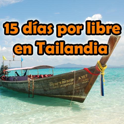 15 días por libre en Tailandia