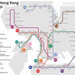 Mapa del Metro de Hong Kong