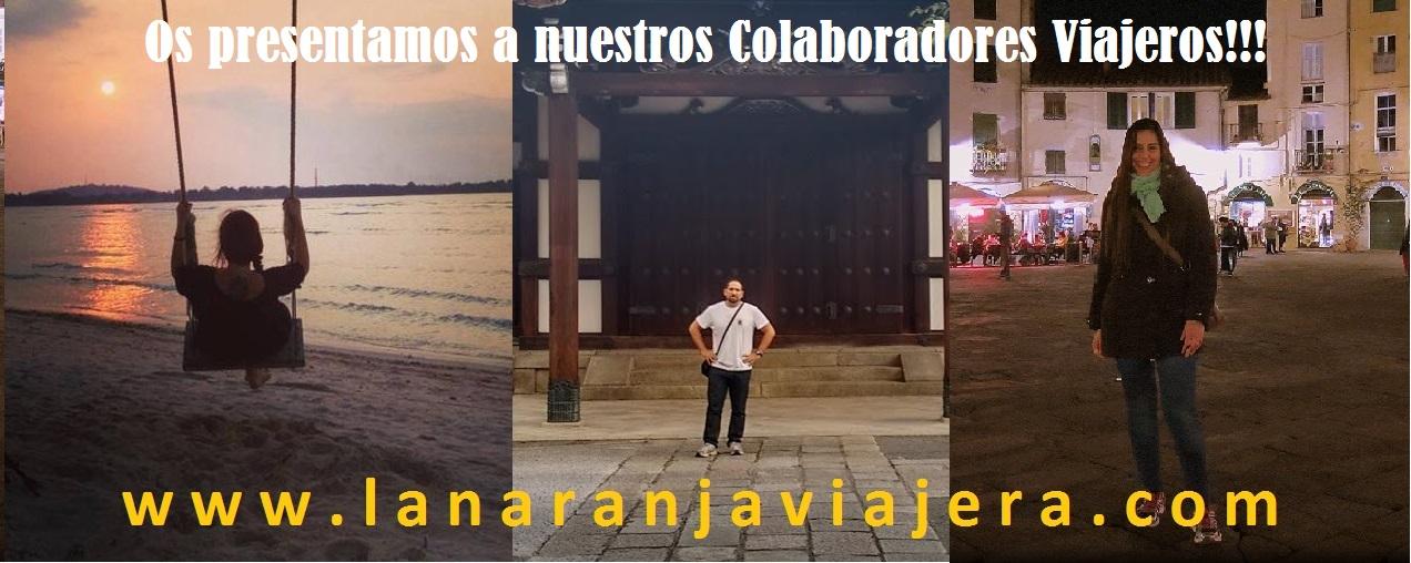 Nuestros Colaboradores Viajeros!!!