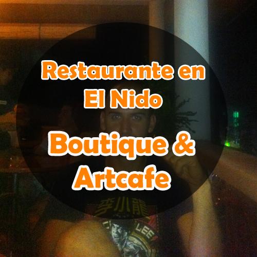 Restaurante en El Nido: Boutique & ArtCafe