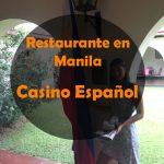 Restaurante en Manila: Casino Español