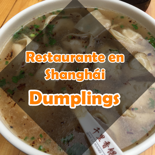 Restaurante en Shanghái: Dumplings