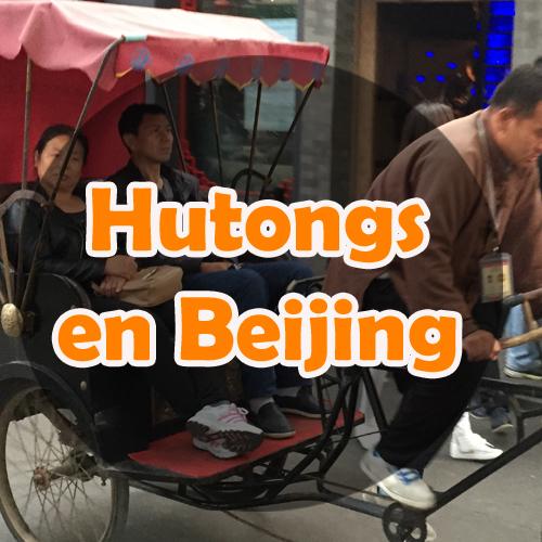 Los Hutongs de Beijing
