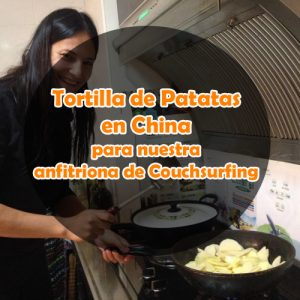 Tortilla de patatas en China