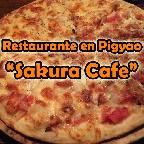 Restaurante en Pingyao: Sakura Cafe