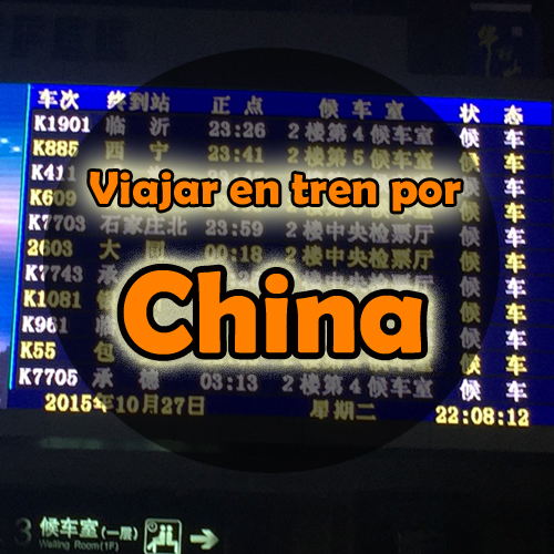 Viajar en tren por China