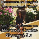 Restaurante en Bangkok: Horizon Cruise