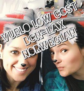 Vuelo Low Cost Barcelona Los Ángeles con Norwegian