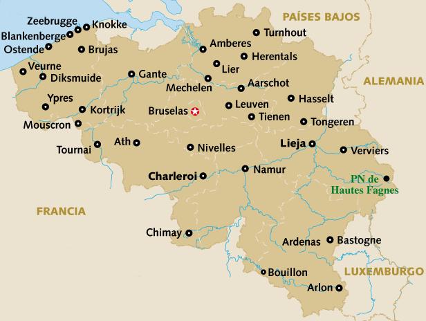 Propuesta De Ruta Bruselas Amberes Gante Brujas Lanaranjaviajera